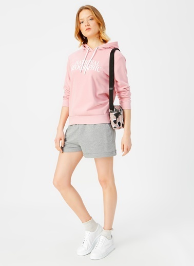 National Geographic Sweatshirt Pembe
